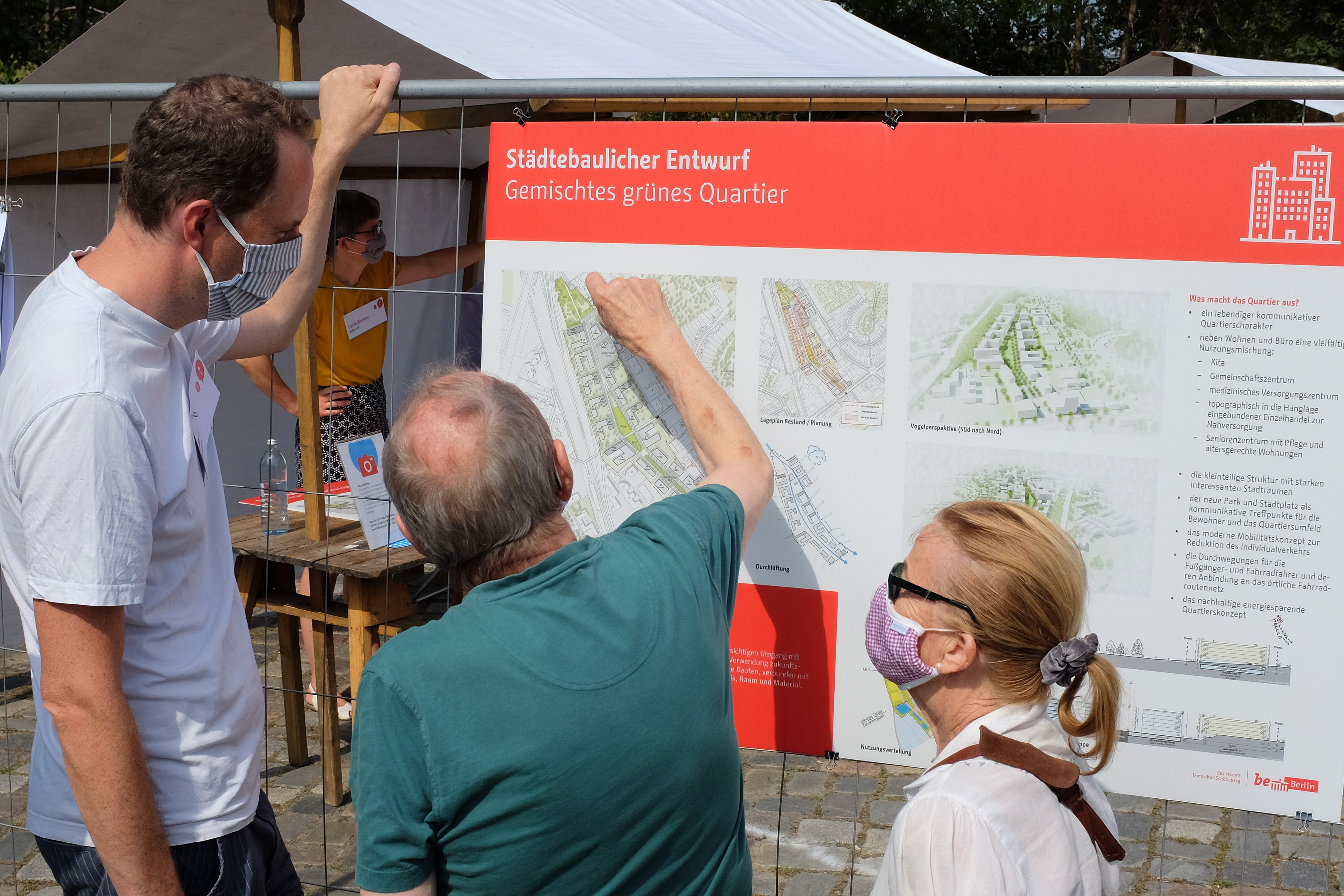 Collignon Architektur und Besucher*innen