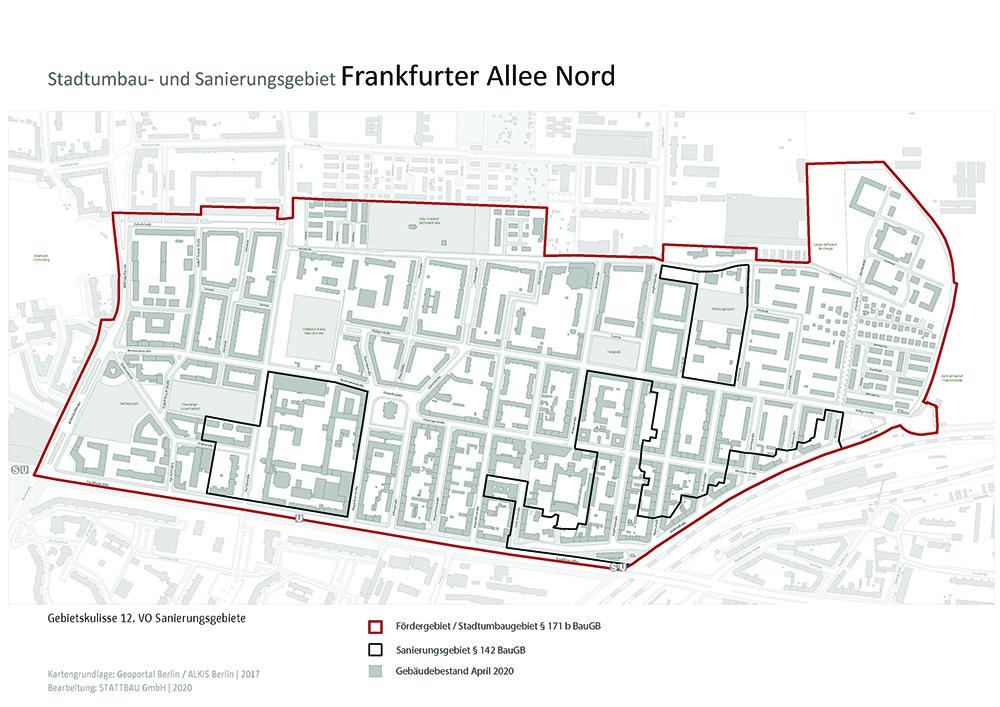 Kulisse des Stadtumbau- und Sanierugnsgebietes